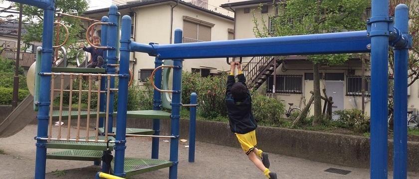 街中の小さな公園でのんびり昼下がり ~下布田公園周辺~