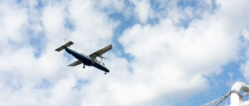 飛行機を見ながら遊ぶ!食べる!~調布飛行場周辺~