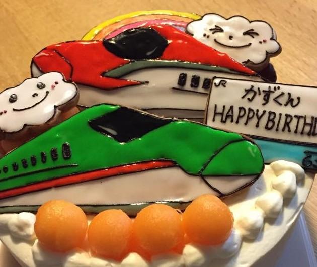 三島さんデコケーキ