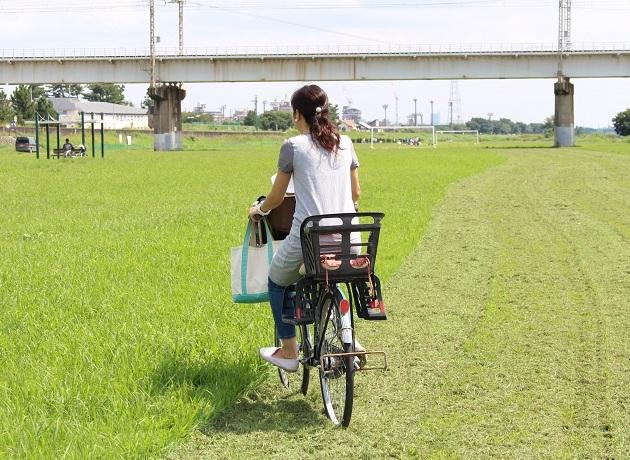 三島さん自転車