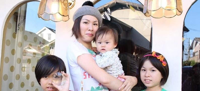 子育ても仕事も気張らず楽しむ! 真栄城涼子さん