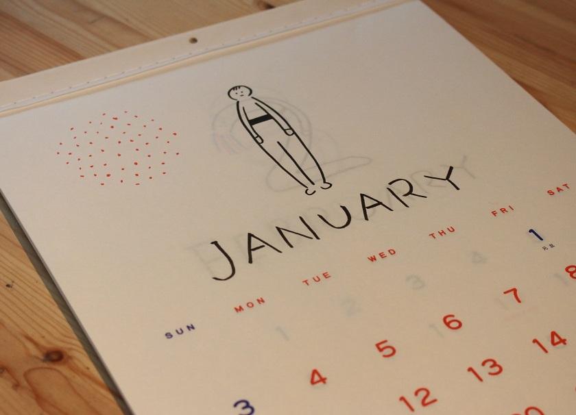 川上さんカレンダー