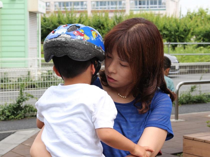 藤原さんママとくまちゃん