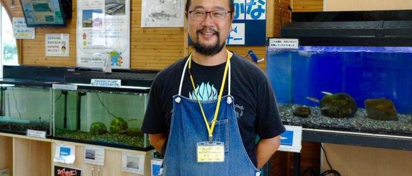 昆虫や魚に詳しい生き物博士に会いに、多摩川へ!
