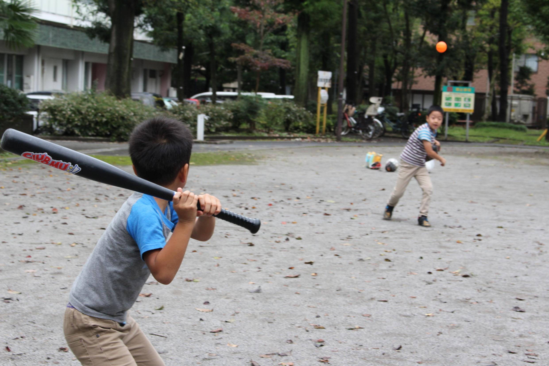 スポーツの秋!国領周辺でボールが使える公園探し