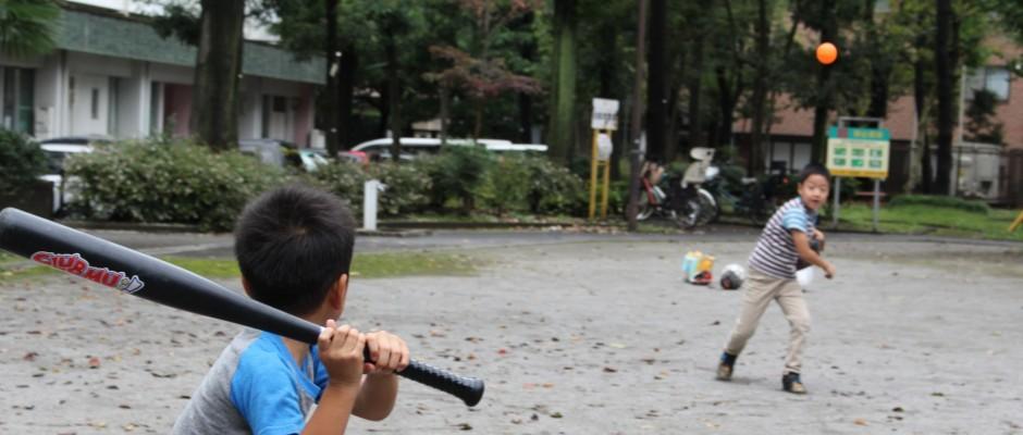 スポーツの秋!国領周辺でボールが使える公園探しの画像