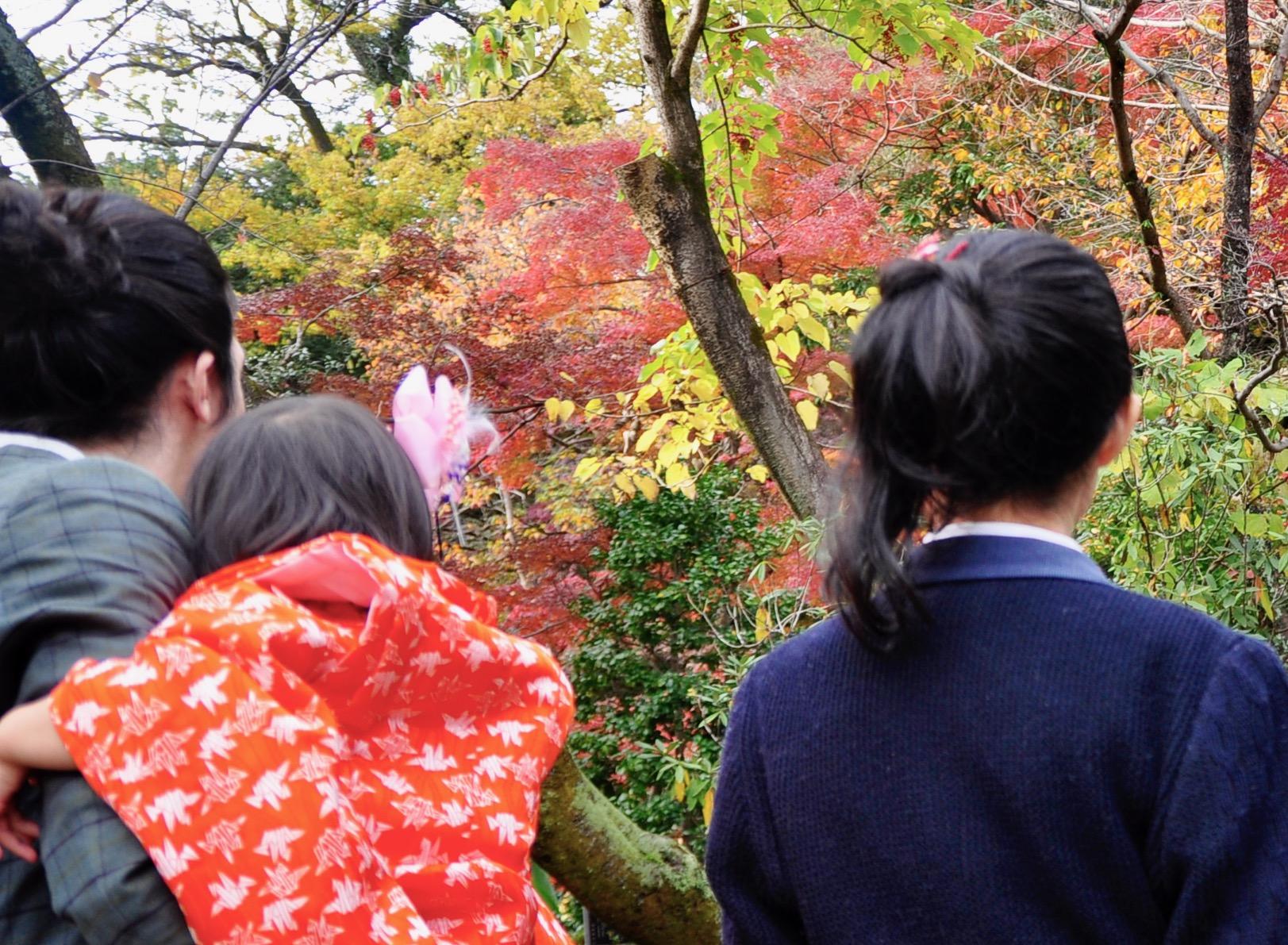 成長の節目に訪れる深大寺
