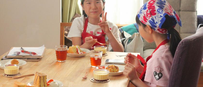 基礎から学べる 子ども向けパンレッスン・お菓子レッスン