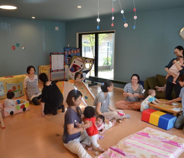妊娠中から産前産後まで。親子の居場所「プレイセンターにしのがわ」