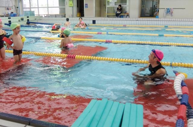 アクラブ調布 ジュニア水泳 こどもスイミング