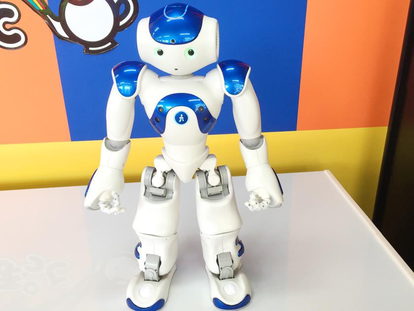 しゃべるロボット