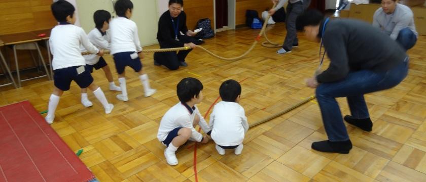 駿河台大学第一幼稚園の「お父さんと遊ぼう会」