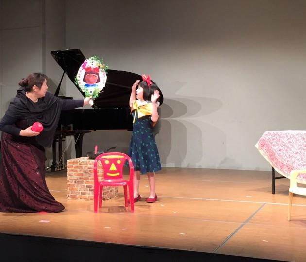 子どもオペラ「白雪姫」を取材!