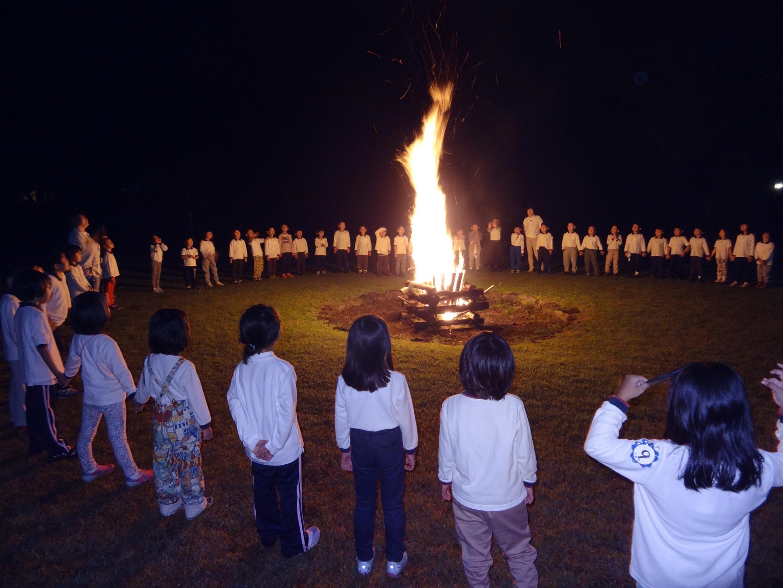 駿河台大学第一幼稚園年長組「箱根合宿保育」