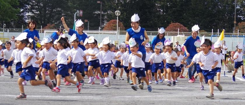 野外劇って、なに!?調布多摩川幼稚園の運動会