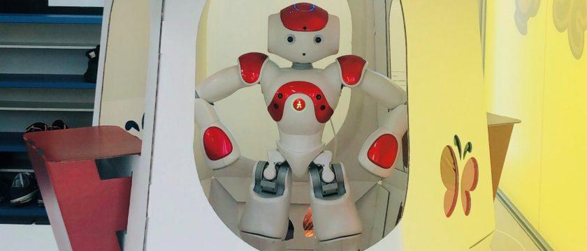 「おしゃべりロボット」に会いに行こう