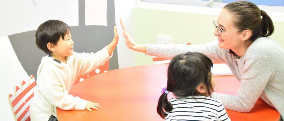 英語でしっかりコミュニケーション!3歳クラス