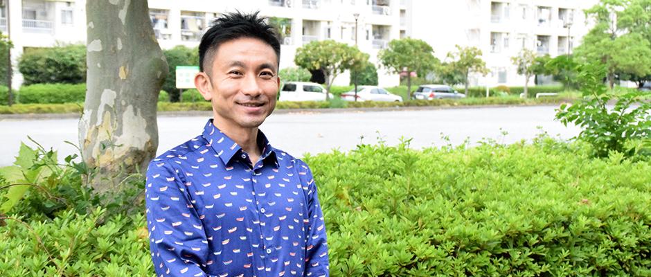 """""""普通のお父さん""""がPTA会長に!? 堂免大規さんの画像"""