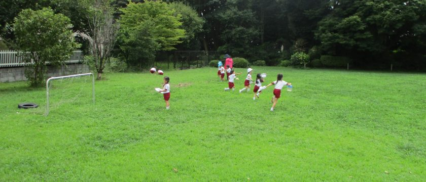 夏休みも「預かり保育」マリアの園幼稚園