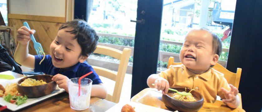 「4歳&2歳息子とイタリアンでランチ」をレポート!
