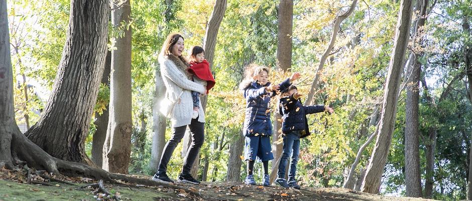 子どもと楽しく歩いて遊ぶ 仙川の画像