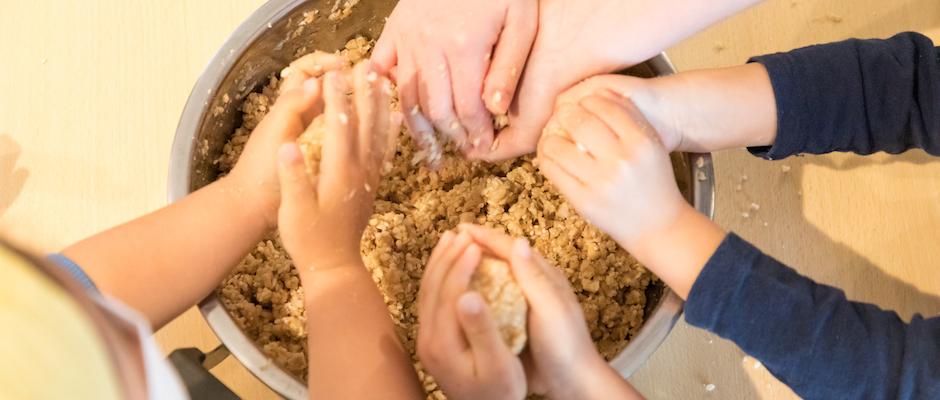 楽しい!子どもと「食しごと」 寒仕込み・干し野菜 の画像