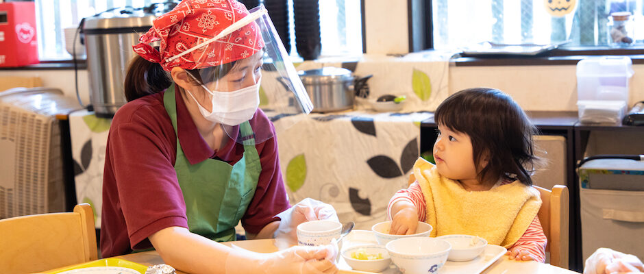 「味わう」と「よく噛む」を育てる離乳食講座の画像