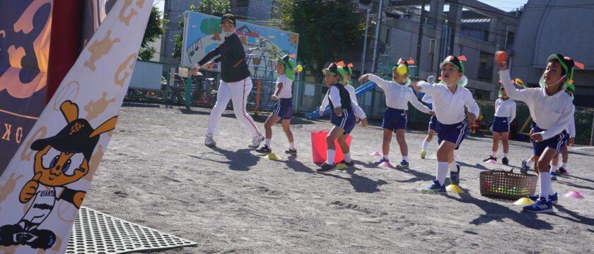 打つ!投げる!「幼稚園・保育園」での野球指導