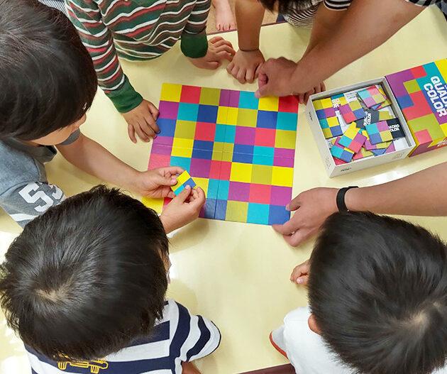 遊び配達人とアナログゲーム!すこっぷの表現療育