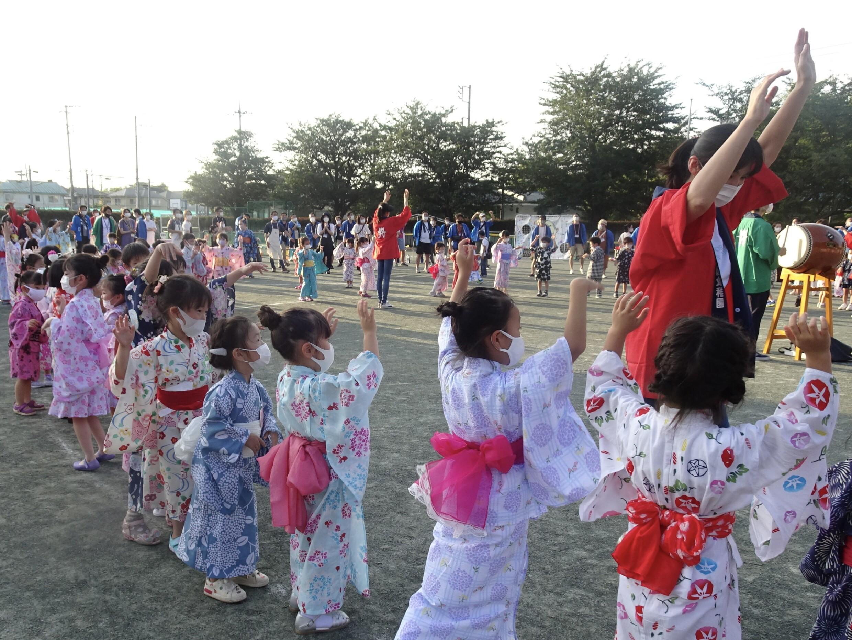 夏まつり開催!晃華学園マリアの園幼稚園